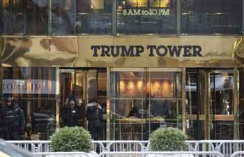 Fire breaks out at Trump Tower in New York, 2 injured