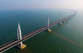 Transport infrastructure recently completed in China