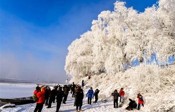 In pics: rime scenery in NE China's Jilin