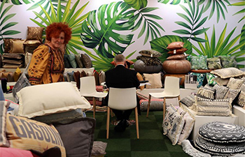 In pics: Chinese booth at World's largest textile fair in Frankfurt