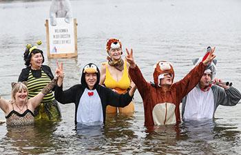 Winter Swimming Carnival held at Oranke Lake in Germany