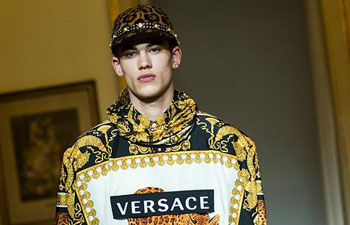 Versace at Milan Men's Fashion Week