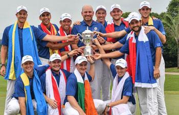 Team Europe wins EurAsia Cup 2018 in Malaysia