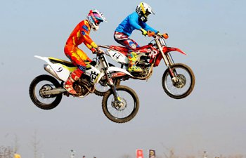 National motocross contest concludes in E China