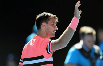 Dimitrov wins Dennis Novak 3-0 at Australian Open