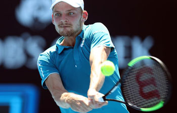 Australian Open: David Goffin beats Matthias Bachinger 3-1