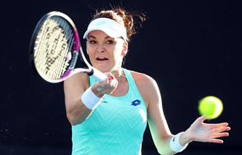 Highlights of first round matches at Australian Open