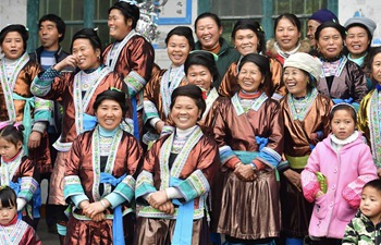In pics: Miao people celebrate traditional New Year festival