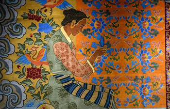 A glimpse of Tibetan carpet fair