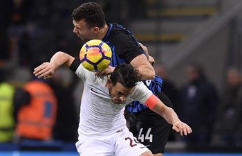 Roma tie with Inter Milan in Serie A match