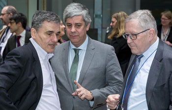 Eurogroup finance ministers meeting held in Brussels