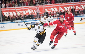 Cherepovets Severstal beats Moscow Spartak 4-3 during KHL game