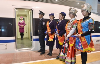 New railway links major SW China cities