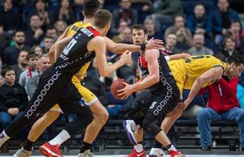 EuroCup basketball: Lietuvos Rytas Vilnius beat Fiat Turin 101-68