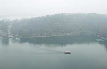 Snow scenery of West Lake in Hangzhou