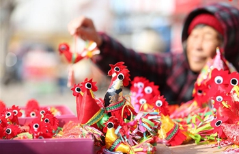 """Spring roosters"" bring good luck for new year in China's Shandong"
