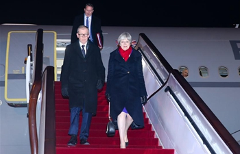 British PM arrives in Shanghai