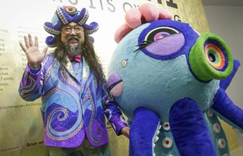 Japanese artist Takashi Murakami's exhibition held in Vancouver