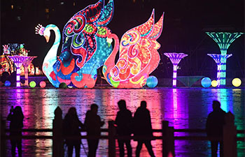 Tang Paradise Spring Lantern Festival held in Xi'an