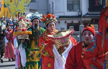 Folk activities held in E China to mark spring festival