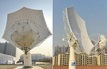 Prototype dish for SKA super telescope assembled in China