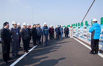 Major work on world's longest sea bridge passes evaluation