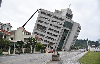 Two killed, over 200 injured in Taiwan earthquake