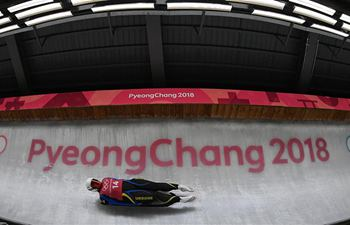 Luge athletes train ahead of PyeongChang Games