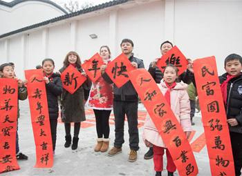 China's Spring Festival in Foreign teacher Weige's eyes