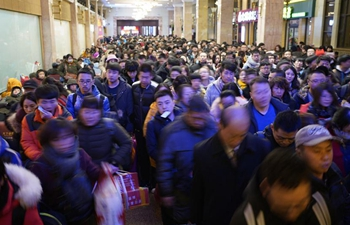 Chinese railway greets travel rush as Spring Festival is coming