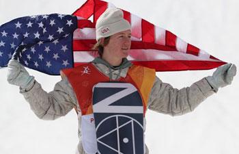 American Gerard wins men's snowboard slopestyle at PyeongChang Olympics