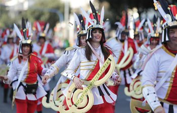 International Carnival Parade held in Rijeka, Croatia