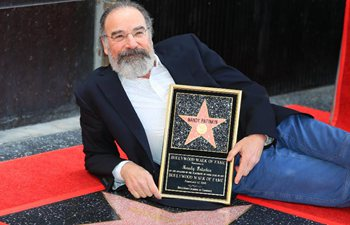 Actor Mandy Patinkin honored with star on Hollywood Walk of Fame