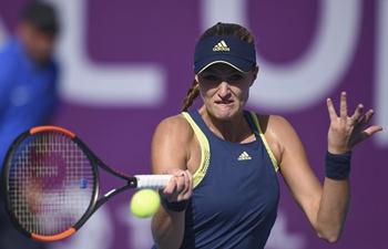Kristina Mladenovic beats Peng Shuai at 2018 WTA Qatar Open