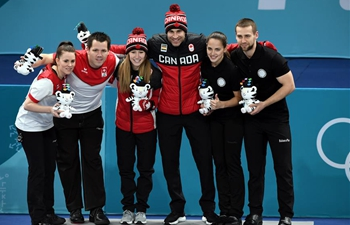 Canada claims curling mixed doubles title at Pyeongchang Olympics