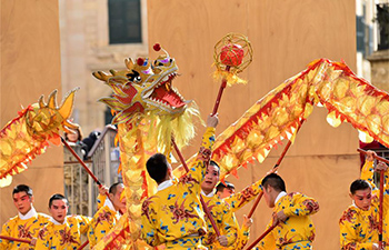 China's Zhejiang Wu Opera Troupe celebrate Chinese Lunar New Year in Malta