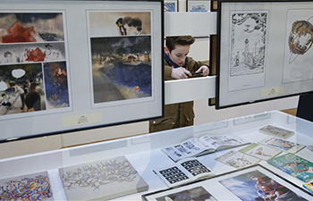 Chinese comics exhibition opens in Brussels