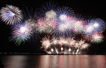 Latest pyrotechnics works showcased in Philippines