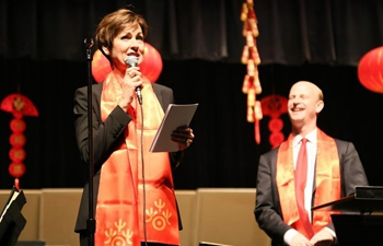 A special Chinese New Year concert in a small U.S. town