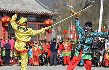 Different activities held to celebrate Lunar New Year all over China