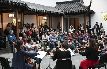 Lunar New Year Festival activities held at Metropolitan Museum of Art in New York