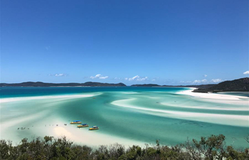 In pics: Whitehaven Beach in Australia