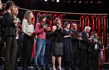 Awards ceremony of 68th Berlin International Film Festival held in Germany