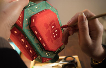 National intangible cultural heritage: lantern making in Xianju
