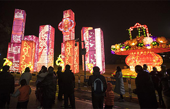 People greet Lantern Festival across China