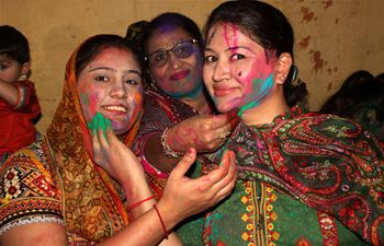 Pakistani Hindus celebrate Holi Festival in Lahore