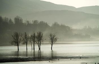 In pics: Nianhu Lake in Huize County, SW China's Yunnan