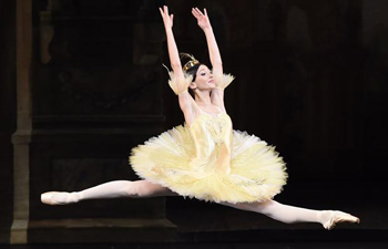 "Dancers perform ""The Sleeping Beauty"" in National Centre for Performing Arts in Beijing"