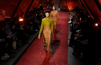 Creations of Hermes presented during Paris Fashion Week F/W 2018
