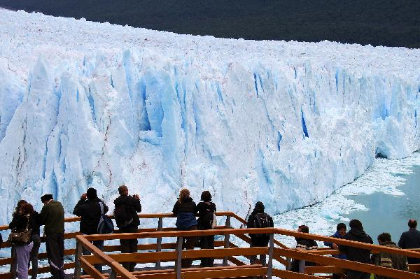 Glaciers in Patagonia melt fastest in the world